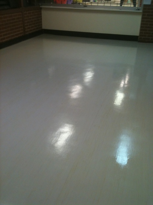 Vinyl floor cleaning sealing sydney perth melbourne for Can you seal vinyl flooring