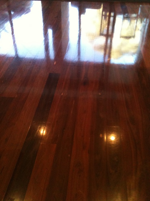 Clean Sweep Home Services - Wood Floor Buffing - McKinney TX