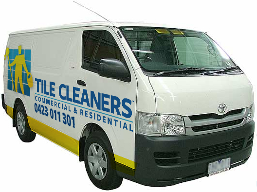 Tile Cleaners Van